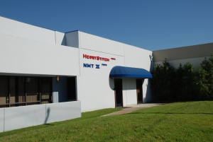 NMT II is located on the 17000 block of Newhope Street in Fountain Valley, California, alongside Nobles' engineering facility.